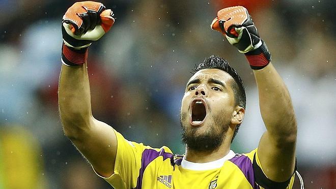 El 'Chiquito' Romero, un gigante tras los pasos de Fillol y Pumpido