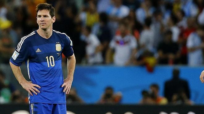 La albiceleste, a la medida de Messi