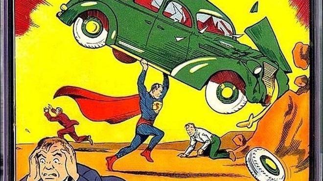 Un ejemplar del primer cómic de Superman, vendido por casi 2,5 millones de euros