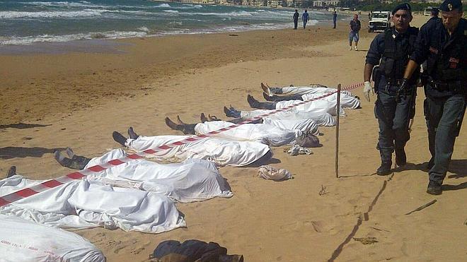 Casi 1.900 inmigrantes fallecen en 2014 intentando llegar a Europa por mar