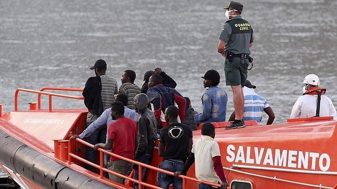 La inmigración irregular en España sube casi un 130% en el primer trimestre