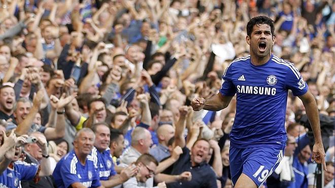La lesión de Diego Costa podría dejarle fuera de la lista de del Bosque