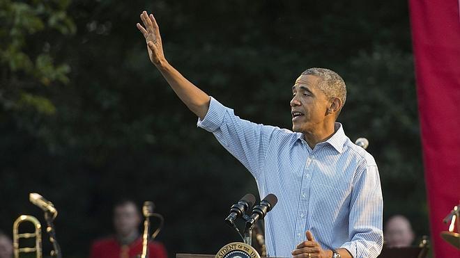 Obama firma la ley que autoriza a EE UU a entrenar a los rebeldes sirios