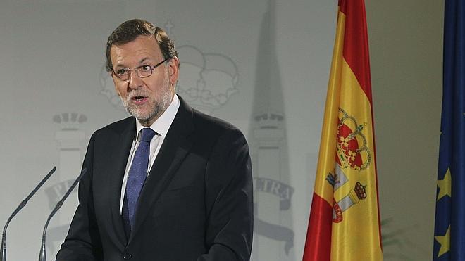 Rajoy: «Estamos muy felices de que Escocia siga con nosotros»