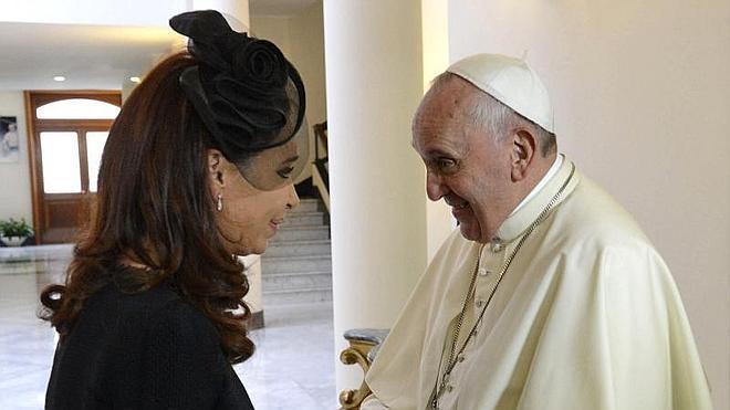 El Papa y Cristina Fernández hablan de la gobernabilidad argentina