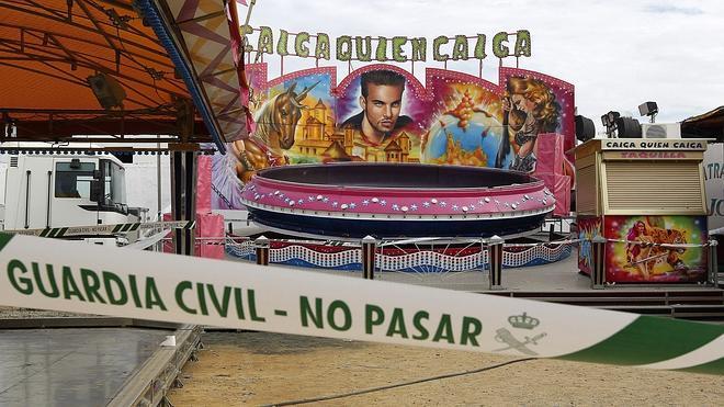 Muere una niña en Sevilla por una descarga eléctrica en una atracción de feria