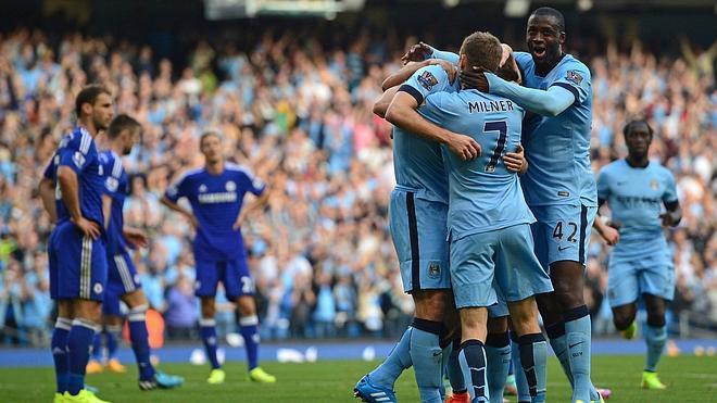 El City empata con el Chelsea gracias a un gol de Lampard, leyenda 'blue'