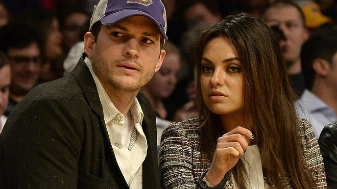 Nace la primera hija de Ashton Kutcher y Mila Kunis