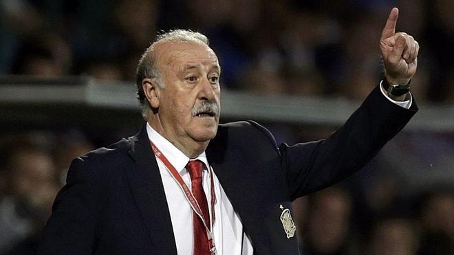 Del Bosque: «El balón hizo un giro extraño y engañó a Iker»