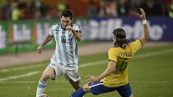 Messi también se exhibe en 30 minutos
