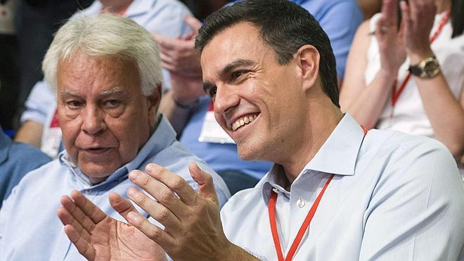 Pedro Sánchez reúne a Felipe González y Alfonso Guerra