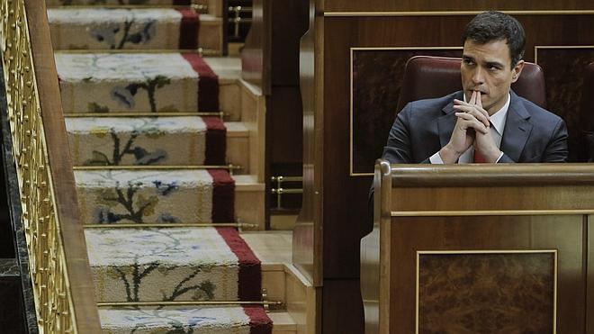Pedro Sánchez: «Los Presupuestos consolidan una política de desigualdad y engaños»