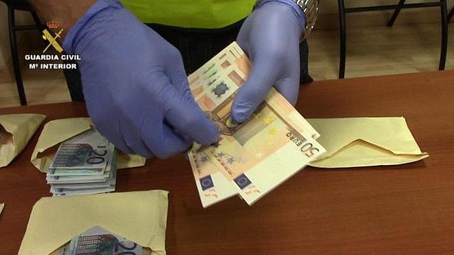 Desarticulada una red de falsificación de moneda que operaba en Sevilla y Cádiz