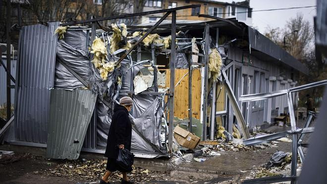 Los combates siguen en Donestk en vísperas de las elecciones separatistas
