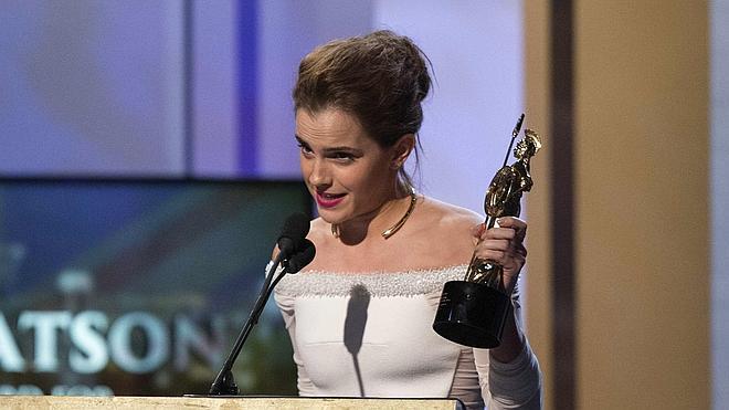 Emma Watson dedica un BAFTA a su hámster muerto