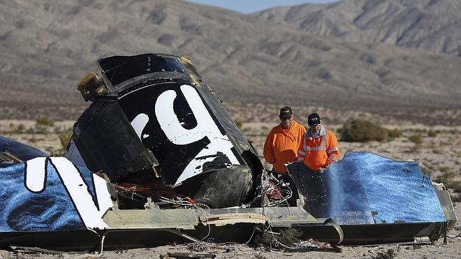 Un fallo del copiloto, principal hipótesis del accidente de Virgin Galactic
