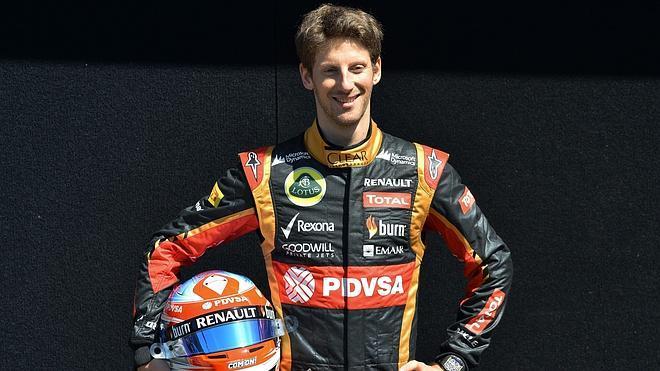 Grosjean renueva con Lotus