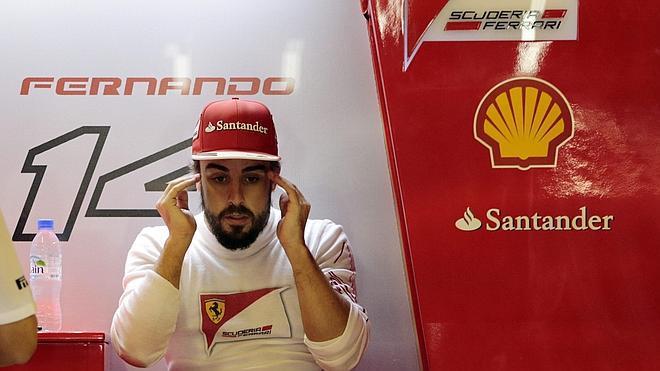 Alonso: «Siento alivio de que pase este año»