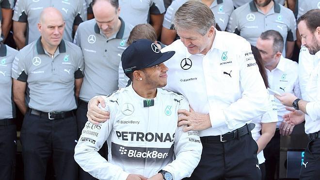 Lewis Hamilton, el martillo de 2014