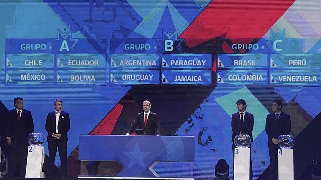 Argentina, Uruguay y Paraguay, en el 'grupo de la muerte'