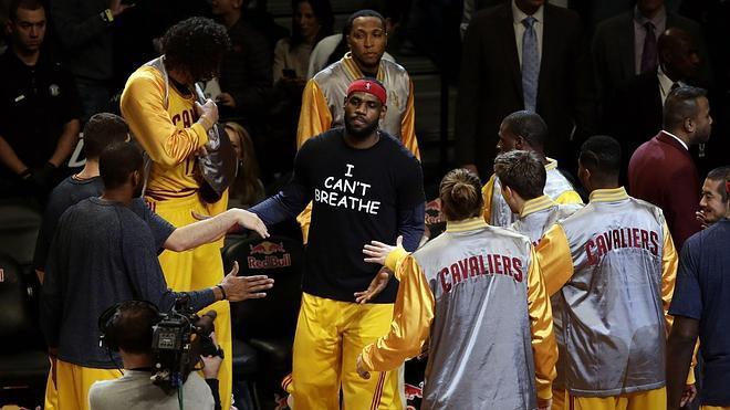 LeBron James se une a la protesta por Eric Garner