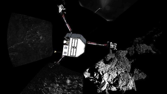 La gesta de 'Philae', hito de la Física Mundial en 2014