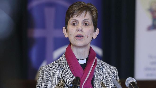 La obispa Lane, la última pionera