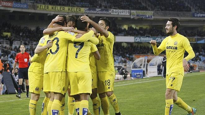 El Villarreal despide a la Real