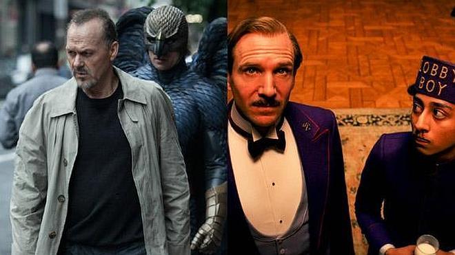 'Birdman' y 'El gran hotel Budapest', favoritas para los Oscar