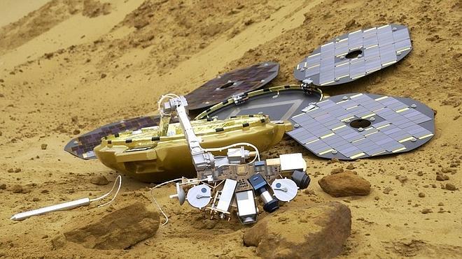 Hallan en Marte una sonda británica perdida desde 2003