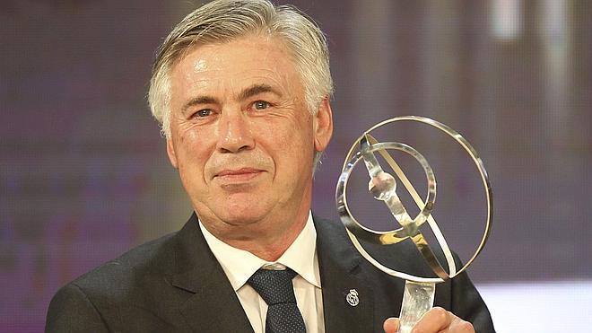 Ancelotti, mejor entrenador de 2014