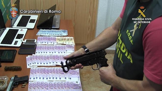 Cae un grupo criminal dedicado al tráfico internacional de drogas