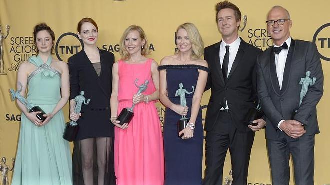 'Birdman' triunfa en los premios del Sindicato de Actores de EE UU