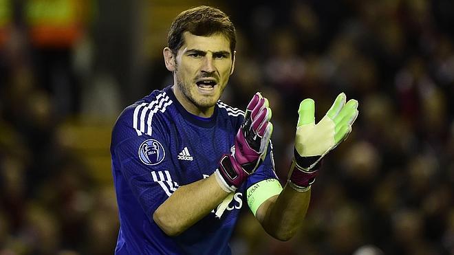 Casillas: «Me gustaría jugar en Estados Unidos»
