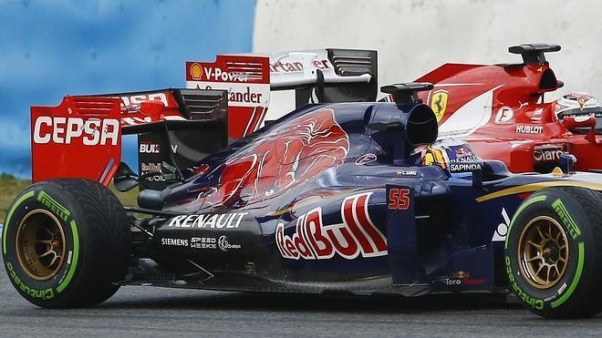 Sainz: «Seguro que el Toro Rosso no es un coche malo»