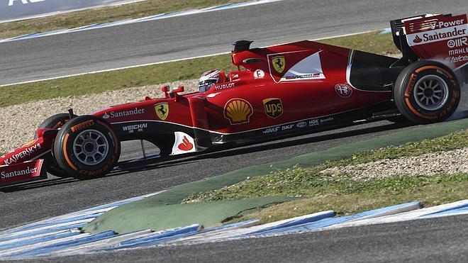 Jerez despide los test con Räikkönen al frente