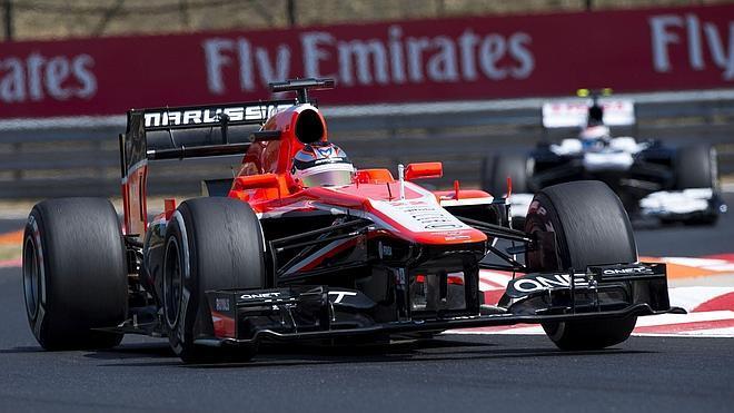 Rechazada que Marussia compitan con los coches de 2014