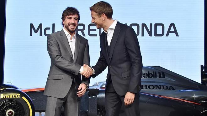 Alonso 'heredará' una avería de Button