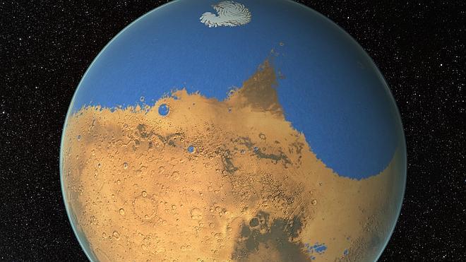 Marte tuvo agua como para cubrir todo el planeta