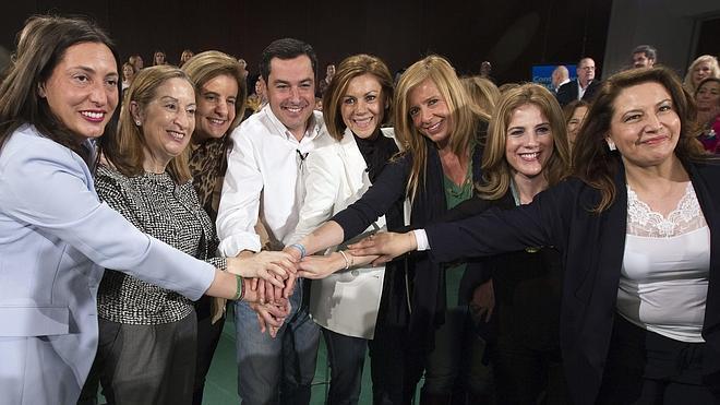 Cospedal llama al «voto útil» en Andalucía para impedir que el PSOE pacte