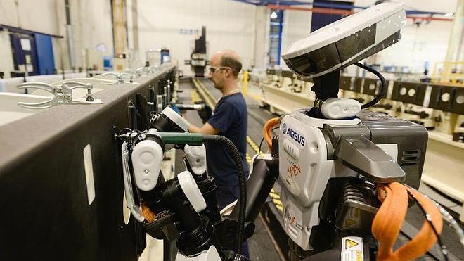 El primer obrero robot es gaditano