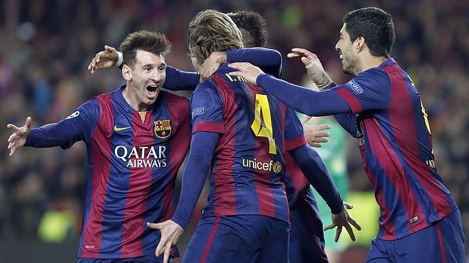 Messi lidera el pase a cuartos