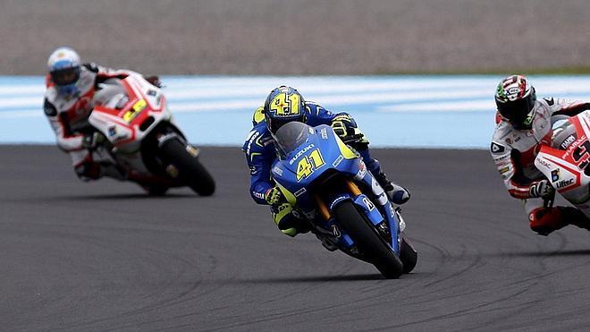 Aleix Espargaró coloca a Suzuki al frente de MotoGP