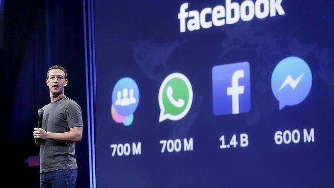Facebook aumenta sus ingresos un 42% en el primer trimestre de 2015