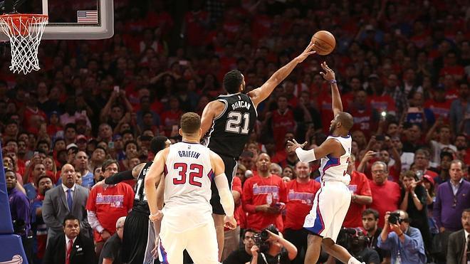 Los Clippers hacen historia y eliminan a los Spurs