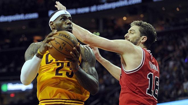 Lebron se reivindica ante los Bulls