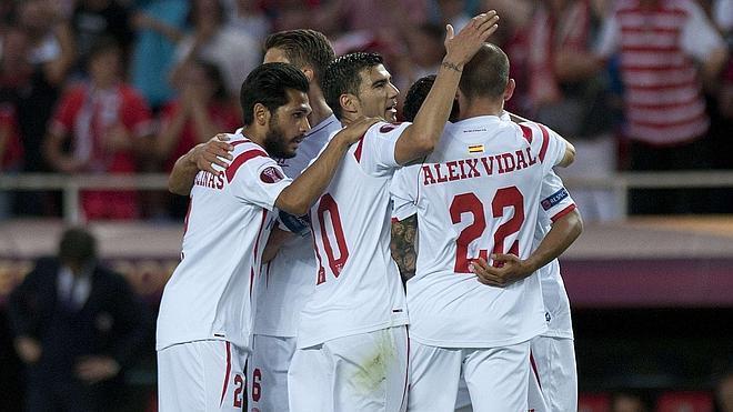 Otra noche europea normal para el Sevilla