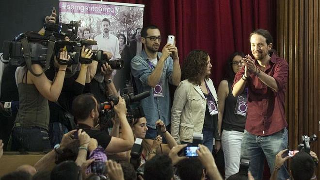 Pablo Iglesias reivindica a Podemos como «heredero» del 15M