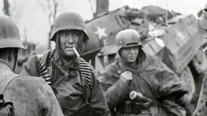 Un arquero inglés en la Segunda Guerra Mundial