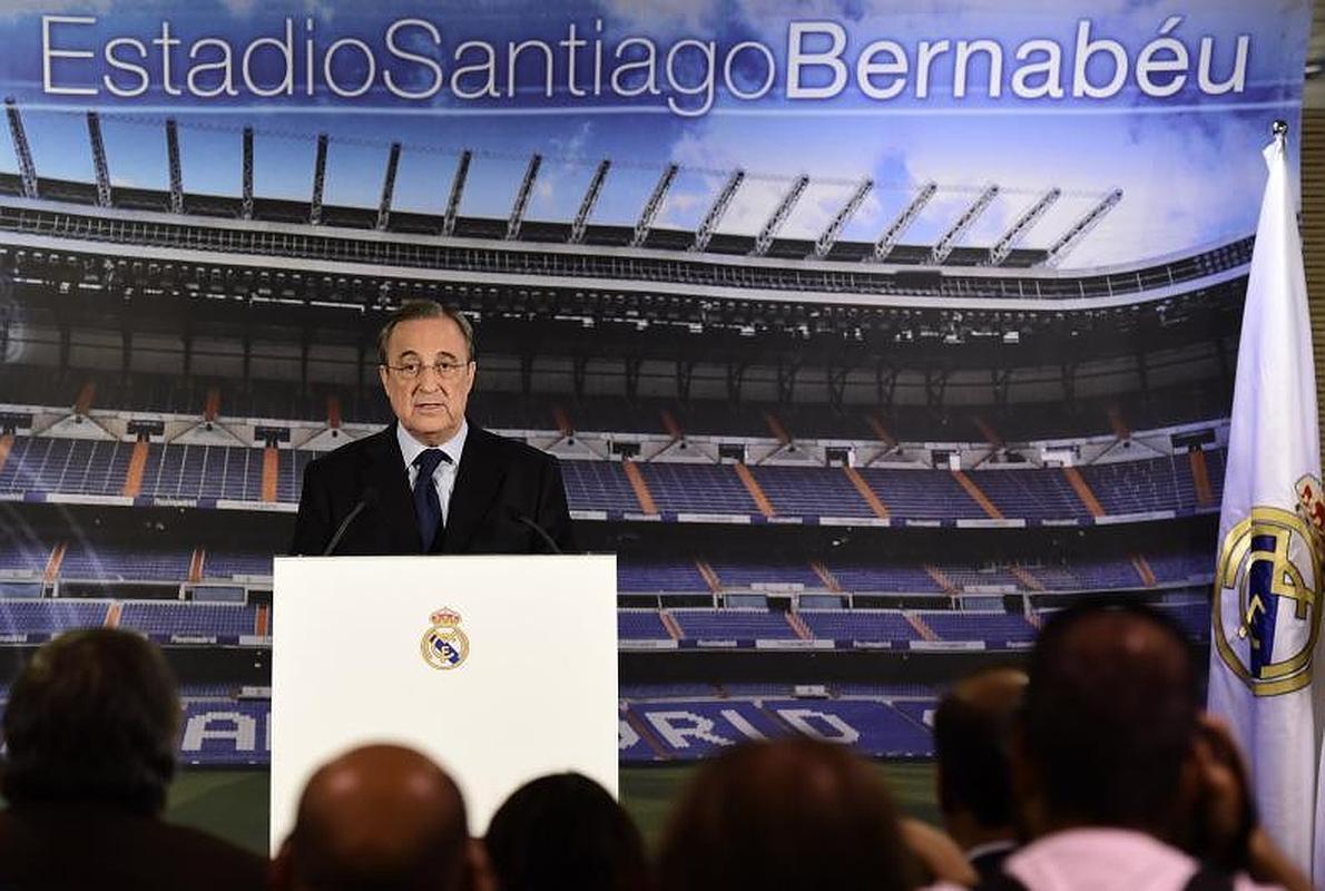 Florentino despide a Ancelotti